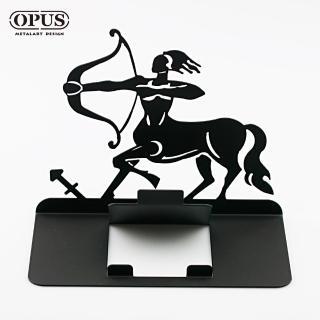【OPUS東齊金工】歐式鐵藝星座手機座/手機支架/萬用支架/平板展示架/生日禮物(射手座-CPSG18)