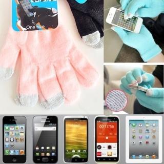 【i 美麗】粉色觸屏手套(買一雙送一雙)