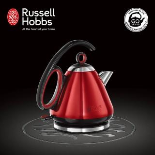 【Russell Hobbs 英國羅素】60週年Legacy 晶亮快煮壺(21281TW-晶亮紅)