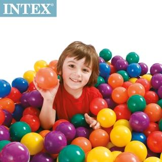 【INTEX】100顆遊戲球(直徑8cm)