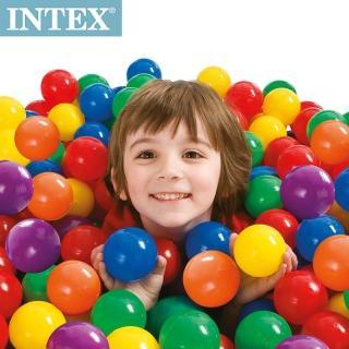 【INTEX】100顆遊戲球(直徑6.5cm)