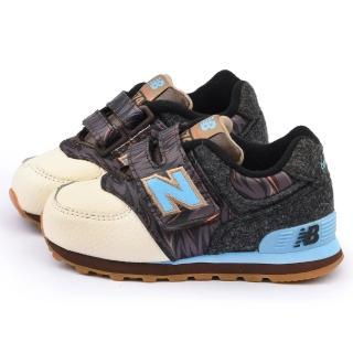 【NewBalance】小童 經典574復古運動鞋(KG574FMI-咖啡)