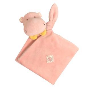 【美國miYim】有機棉安撫巾(喜寶河馬)