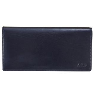 【Sika】義大利時尚真皮中性素面長夾(A8202-06清玉藍)