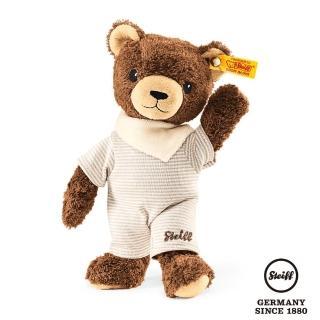 【STEIFF德國金耳釦泰迪熊】Basti Bear(嬰幼兒玩偶)