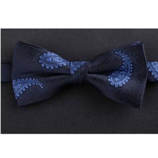 【拉福】藍底變形蟲紳士精工領結新郎結婚領結糾糾(藍色系)