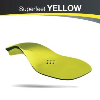 【美國SUPERfeet】健康超級鞋墊(黃色)