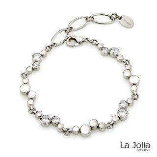【La Jolla】璀璨愛戀 純鈦鍺手鍊