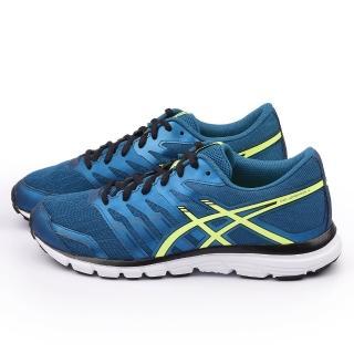 【Asics】男款 GEL ZARACA 2 慢跑運動鞋(T5K3N-5307-藍)