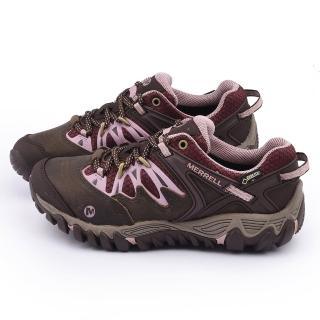 【MERRELL】女款 ALLOUT BLAZE GORE-TEX多功能健行鞋(ML24622-褐)