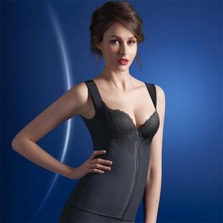 【華歌爾】MILD系列64-82美姿極塑衣(魅惑黑)