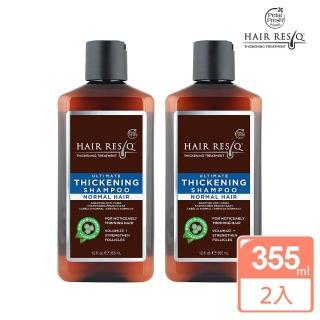 【美國 沛特斯】有機成份B群頭皮洗髮精-2入組(無矽靈稀疏髮質適用-355ml/12oz)