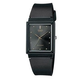 【CASIO】時尚簡約方款腕錶(MQ-38-1A)