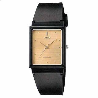【CASIO】時尚簡約方款腕錶(MQ-38-9A)