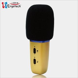 【人因科技】人因 行動K歌王2 KB100 手機/平板KTV歡唱伴侶(行動麥克風)