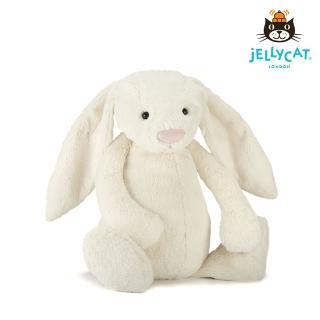 【英國 JELLYCAT】超級大兔子 67公分(Cream 白)