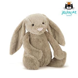 【英國 JELLYCAT】超級大兔子 67公分(Beige 灰)