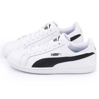 【PUMA】男款 Puma Smash L 網球運動鞋(356722-11-白黑)