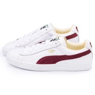 【PUMA】男款 Basket Classic 運動鞋(351912-38-白紅)