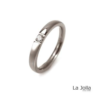 【La Jolla】幸運 純鈦尾戒(細版)