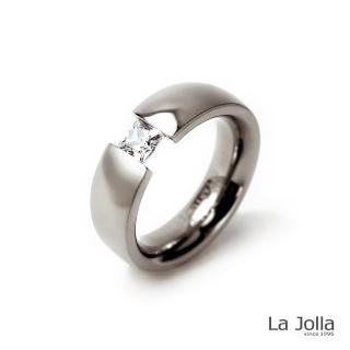 【La Jolla】幸運 純鈦尾戒(寬版)