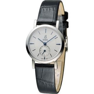 【E. BOREL 依波路】典雅系列超薄石英女錶(LS850N-23571BK)