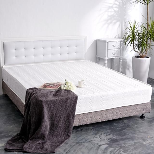 【品生活】防蹣抗菌獨立筒床墊6X6.2尺(雙人加大)