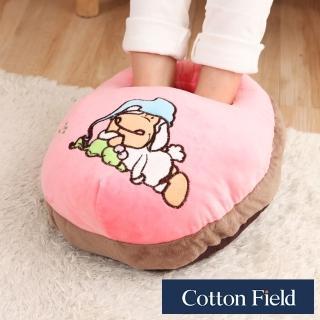 【快速到貨-棉花田】超柔貼布刺繡暖腳枕(6款可選)