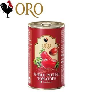 【義大利ORO】去皮整顆番茄(400g/罐)
