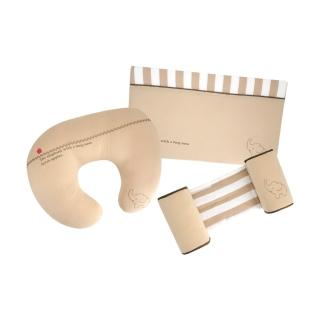 多功能側枕頭+嬰兒三角防吐奶枕+哺乳枕(三件組)
