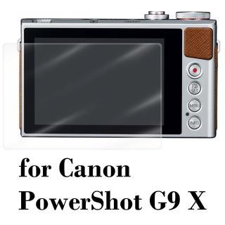 【D&A】Canon PowerShot G9 X 日本原膜HC螢幕保護貼(鏡面抗刮)