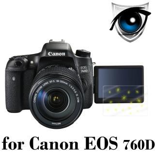 【D&A】Canon EOS 760D 日本原膜增豔螢幕貼(9H防藍光疏油疏水型)