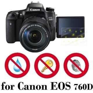 【D&A】Canon EOS 760D 日本原膜螢幕貼(NEW AS玻璃奈米型)