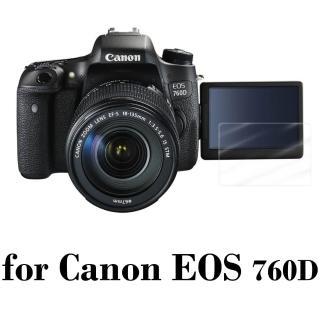 【D&A】Canon EOS 760D 日本原膜HC螢幕保護貼(鏡面抗刮)
