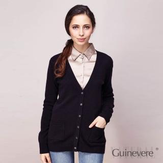 【矜蘭妃】100%CASHMERE羊絨經典外罩衫(黑)