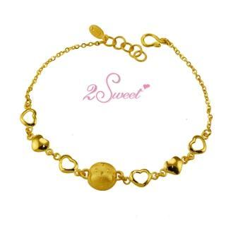 【甜蜜約定2sweet-HC-2571】純金金飾猴年手鍊-約重1.53錢(猴年)
