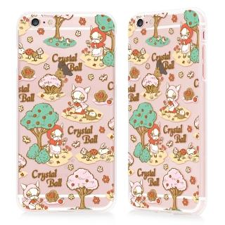 【GARMMA】Crystal Ball iPhone 6/6S+ 5.5吋TPU保護軟殼(小紅帽)