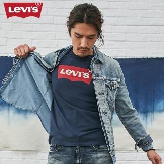 【Levis】男款短袖LOGO T恤