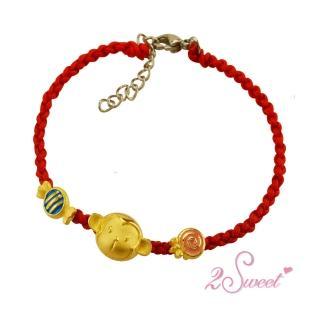 【甜蜜約定2sweet-HC-2652】純金金飾猴年手鍊-約重0.97錢(猴年)