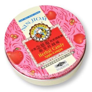 【京都念慈菴】枇杷潤喉糖-蘋果桂圓味鐵盒(60g/1盒)