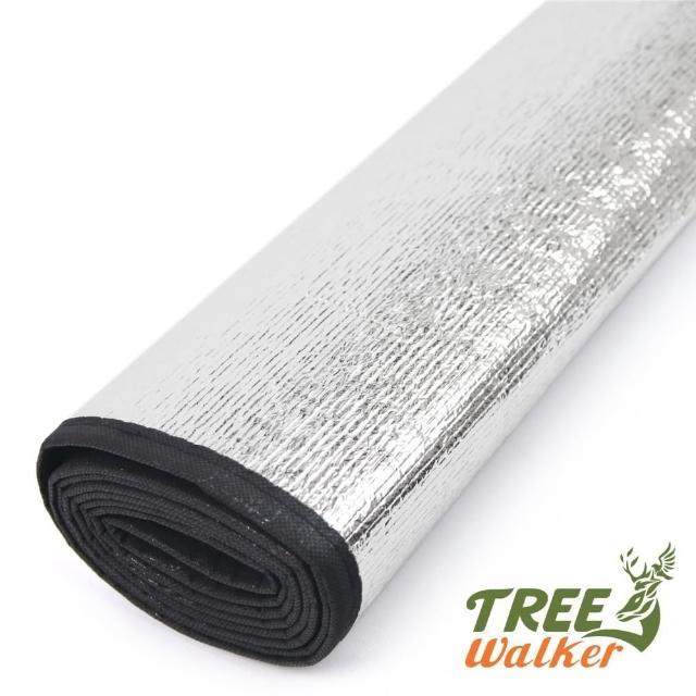 【TreeWalker】雙人雙面鋁箔睡墊-200x95cm(2入)