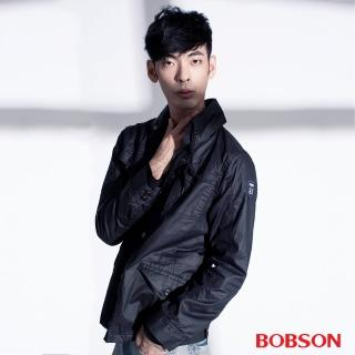 【BOBSON】男款水洗合身外套(35041-88)
