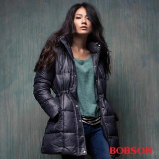 【BOBSON】女款 尊爵 長版羽絨外套(35120-88)