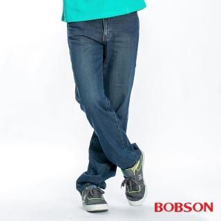 【BOBSON】男款天絲棉直筒褲(1715-53)