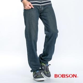 【BOBSON】男款天絲棉直筒褲(1715-77)