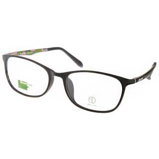 【ALAIN DELON眼鏡】休閒簡約款(黑-迷彩綠#AD20322 B2)