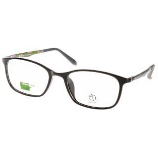 【ALAIN DELON眼鏡】休閒簡約款(黑-迷彩綠#AD20323 B3)