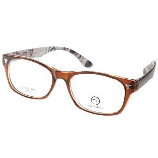【ALAIN DELON眼鏡】時尚百搭款(棕-黑#AD20316 BR3)