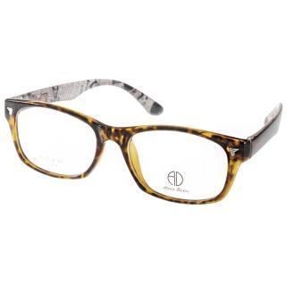 【ALAIN DELON眼鏡】時尚百搭款(琥珀棕-黑#AD20316 D3)