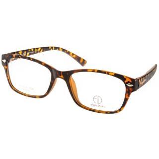 【ALAIN DELON眼鏡】簡約典雅款(琥珀#AD20318 MDD)